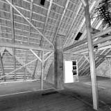 Punktwolke Dachbalken